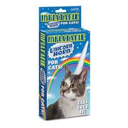 Inflatable Unicorn Horn for Cats!!!