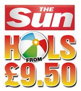 The Sun £9.50 Holiday Codes for January 2018