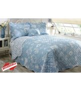 Countryside Butterfly Printed Bedspread