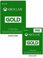6 Months Xbox gold Live membership