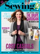 Get 5 Issues Os Simply Sewing Magazine for Just £5 Saving 83%