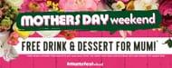 Free Dessert and Drink