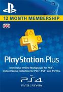 PlayStation plus 12 Months Subscription