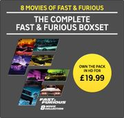 The Complete Fast & Furious Boxset (DIGITAL)