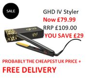 GHD IV Styler - GOOD PRICE! FREE DELIVERY. Best Seller. save £29