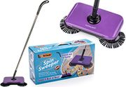 Vorfreude Pro Spin Sweeper Automatic Hand Push Broom