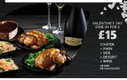 Cheap Morrisons Valentines Day Dine in for 2