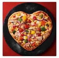 Heart Shaped Pizza- £2 Instore at Asda