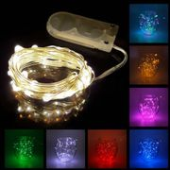 **FREE** 1m Waterproof 10-LED String Lights - Just Pay 45p P&P (Random Colour)