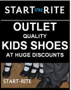 HALF PRICE KIDS SHOES at the START RITE ONLINE OUTLET