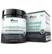 Nu U Activated Charcoal Teeth Whitening Powder