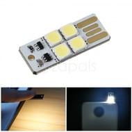 Touch Control 4-LED USB Light Mini Flashlight Free + 50p Postage