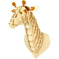 3D Wooden Giraffe Model Only £1 at Hobbycraft!