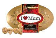 I Love Mum - Walkers Miniatures Shortbread Tin