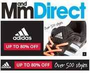 Up to 80% off ADIDAS Jackets, Football Boots, Sport Tops, Shorts, Trainers Etc