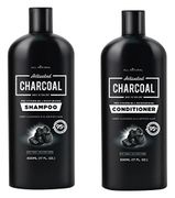 500ml Charcoal Shampoo + 500ml Charcoal Conditioner