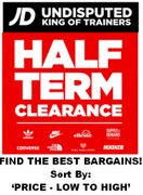 CLEARANCE DEALS at JD Sports