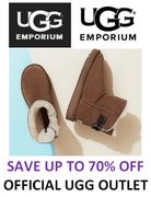 UGG OUTLET - up to 70% off YOUR UGG BOOTS!