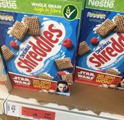 Half Price Nestle Shreddies Cereal 415g at Sainsbury