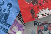 Free 5 Pack Mystery T Shirts with Graphic Novel Only £14.99