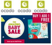 Ocado Amazing Baby Sale Cheap Pampers Buy One Get One Free