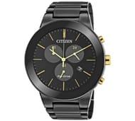 Citizen Men's Eco-Drive Axiom Black Watch at Argos