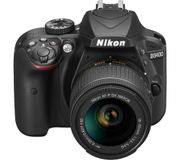 NIKON D3400 DSLR Camera with 18-55 Mm f/3.5-5.6 Zoom Lens £354 with Code