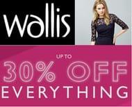 Wallis 30% off Everything