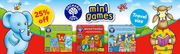 Orchard Toys - 4 Fantastic Mini Games - 25% off plus Free Delivery