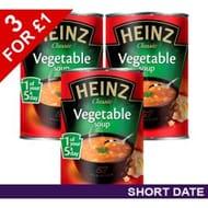3 X Heinz Vegetable Soup 400g