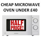 Where Can I Buy a Cheap Microwave Oven under £40? Cheapest Price?
