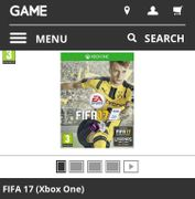 FIFA 17 for Xbox One Only £4:99