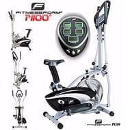 Fitnessform®2-in-1 Cross Trainer Elliptical Exercise Bike (New Model)