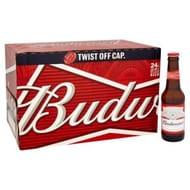Rollback on Budweiser Twist Top 24 Pack at Argos