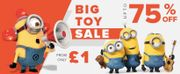 Amazing Prices on Kids Toys. Items from 30p!!
