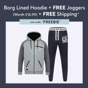 Get a FREE Pair of Joggers (Worth £16.99) When You Buy Any Hoodie Using Code