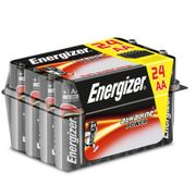 Energizer AA or AAA Alkaline Batteries 24 Pack