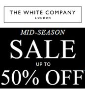 Don't Miss It. the White Company SALE. There's up to 50% Off!