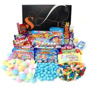 Retro Sweets Hamper: Just Treats Solar Gift Hamper Free Delivery