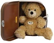 Steiff 28cm Fynn Teddy Bear in Suitcase