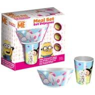 Despicable Me Unicorn Mealtime Easter Set - 3x Eggs, Bowl & Mug