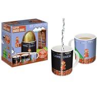Super Mario Large Chocolate Egg, 2x Choc Bars & Heat Changing Mug Set
