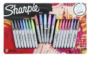Sharpie Fine Point Permanent Markers 21-Pack