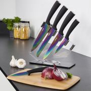 Tower 5-Piece Kitchen Knife Set with Acrylic Stand