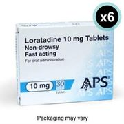 6 Month Supply of Loratadine Only £4.79 FREE DELIVERY