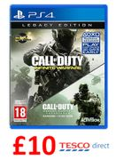 JUST £10! Call of Duty: Infinite Warfare Legacy Edition PS4