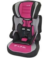 TT Nania Beline Luxe Group 1-2-3 Car Seat - Agora Framboise. at Argos/ebay