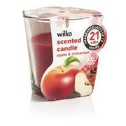 Wilko Candle Apple and Cinnamon / Gingerbread Man