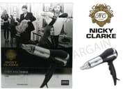 Nicky Clarke Mirrored Shine Hair Dryer 2000 Watt Salon Dryer