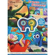 Disney Pixar - Dream and Discover Activity Book £1 Free Click and Collect